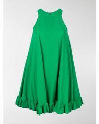 MSGM - Sleeveless Swing Dress - Lyst