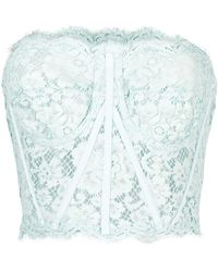 Dolce & Gabbana Top senza spalline - Blu