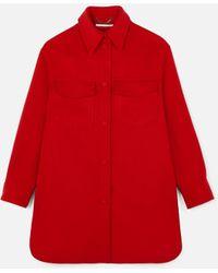 Stella McCartney - Kerry Wool Coat - Lyst