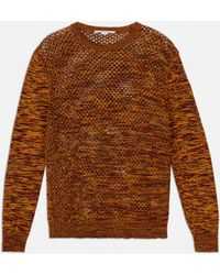 Stella McCartney Pull Lace Moulin - Marron