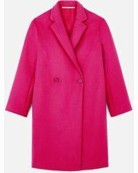 Stella McCartney - Blackwood Wool Coat - Lyst