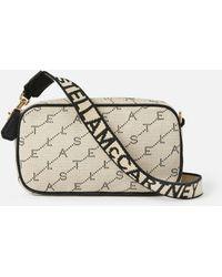 Stella McCartney Monogram Belt Bag - Natural