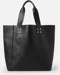Stella McCartney Stella Logo Tote Bag - Schwarz