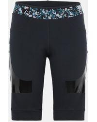 adidas By Stella McCartney Schwarze Hybrid Shorts