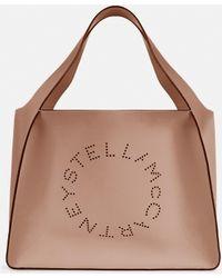Stella McCartney Tote bag Stella Logo - Neutre