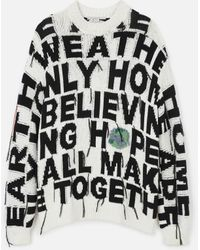 Stella McCartney ''we Are The Weather'' Jumper - Black