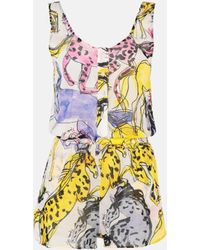 Stella McCartney Horse Print All-in-one - Multicolour