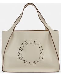 Stella McCartney Tote bag Stella Logo - Blanc