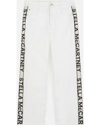 Stella McCartney The Cropped Jeans - White