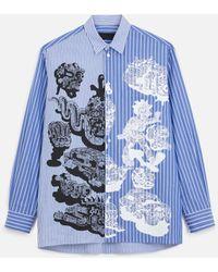 Stella McCartney Saul Cotton Shirt - ブルー