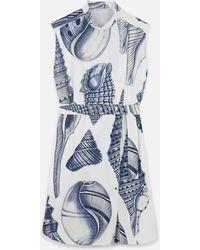 Stella McCartney アンドレア シルク ドレス - ホワイト