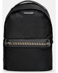 Stella McCartney Falabella Logo Go Backpack - Black
