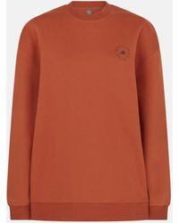 Stella McCartney トレーニング スウェットシャツ - オレンジ