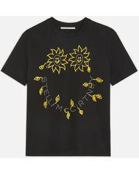 Stella McCartney - ステラ スマイル Tシャツ - Lyst