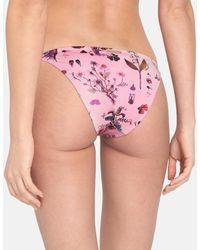 Stella McCartney Bas de bikini Trippy Floral - Rose