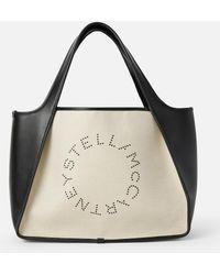 Stella McCartney Cabas-Tasche Stella Logo - Natur