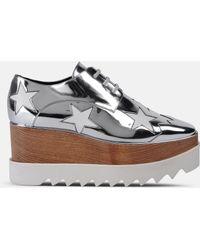 Stella McCartney - Elyse Stars Faux-leather Platform Oxford - Lyst