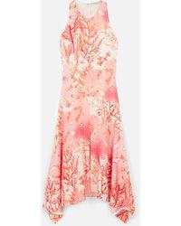 Stella McCartney アナベル シルク ドレス - ピンク