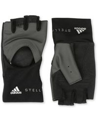 adidas By Stella McCartney - Black Training Gloves - Lyst