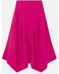 Stella McCartney Naya Silk Skirt - Pink