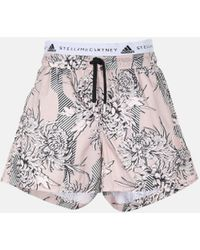 adidas By Stella McCartney Future Playground Short Over Tights - Pink
