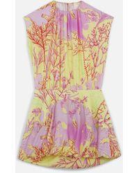 Stella McCartney ベサニー シルク ドレス - ピンク