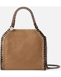 Stella McCartney Mini Tote Bag Falabella - Natur