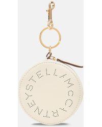 Stella McCartney ステラ ロゴ カードホルダー - ホワイト