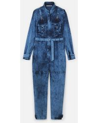 Stella McCartney Denim Jumpsuit - Blue