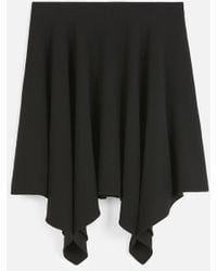 Stella McCartney リビア ミニ スカート - ブラック