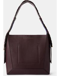 Stella McCartney Medium Hobo Bag - Red