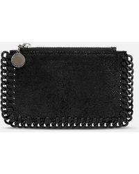Stella McCartney Falabella Card Holder - Black
