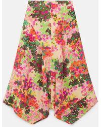 Stella McCartney Naya Silk Skirt - Multicolour