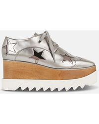 Stella McCartney - Silver Eclypse Star Shoes - Lyst