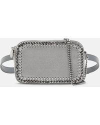Stella McCartney Falabella Zip Belt Bag - Gray