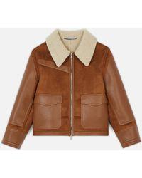 Stella McCartney Skin Free Skin Jacket - Brown