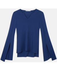 Stella McCartney | Sapphire Compact Knit Top | Lyst