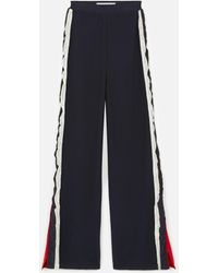 Stella McCartney Knit Monogram Trousers - Blue