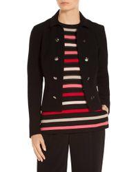 St. John - Bella Double Weave Jacket - Lyst