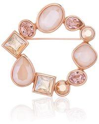 St. John Sale Swarovski Crystal Pin - Pink