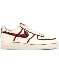 Nike Air Force 1 Low Logo Pack University Red for Men Lyst