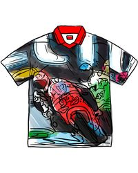 Supreme Racing Soccer Jersey - Multicolour
