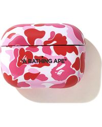 A Bathing Ape Abc Camo Airpods Pro Case - ピンク