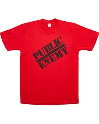 Supreme Undercover/public Enemy Tee - Red