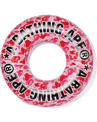 A Bathing Ape Abc Beach Floating Tube Pink
