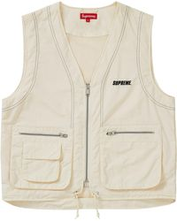2fef2ba8 Supreme Mesh Cargo Vest 'ss 18' in Green for Men - Lyst