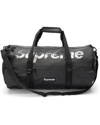 Supreme Duffle Bag (ss21) - Black