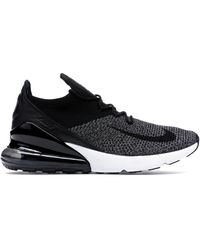 Nike Air Max 270 Flyknit Shoes - Size 8.5 - Black