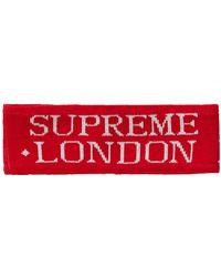 Supreme International Headband - Red