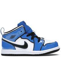 Nike - 1 Mid Signal Blue (td) - Lyst